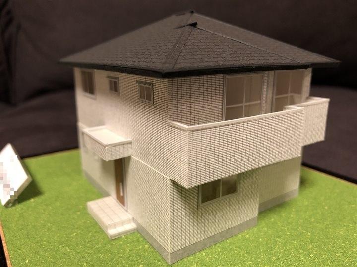 ヘーベルハウスの家の模型